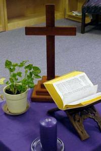 Stolik modlitewny