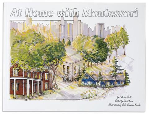 At Home With Montessori to krótka książka, która zachęca do przemyślenia własnego domu z perspektywy możliwości poszanowania potrzeb zarówno dorosłych jak i dzieci.
