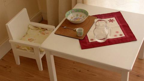 Aktualne Przejście na produkty stałe w metodzie Montessori. Pierwszy stolik EO32